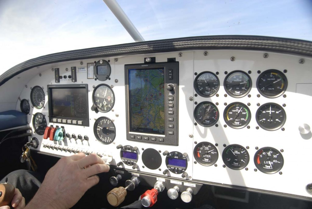 Cockpit RV9