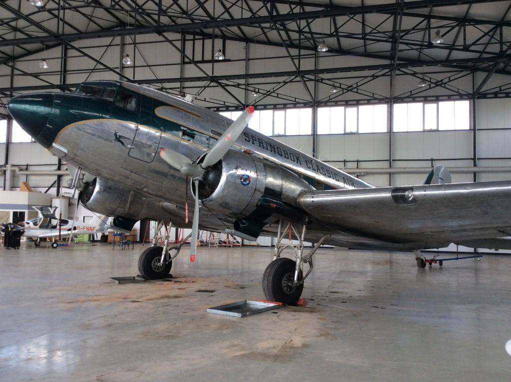 DC3 mit Südafrika Zulassung